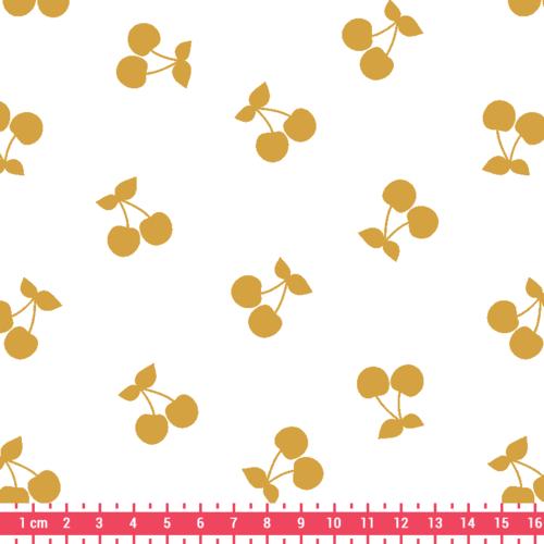 Kimsa Gold Cherries Jersey Cream