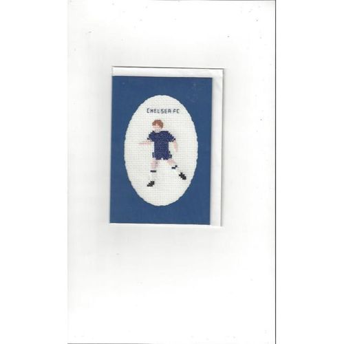 Chelsea embroidered Card