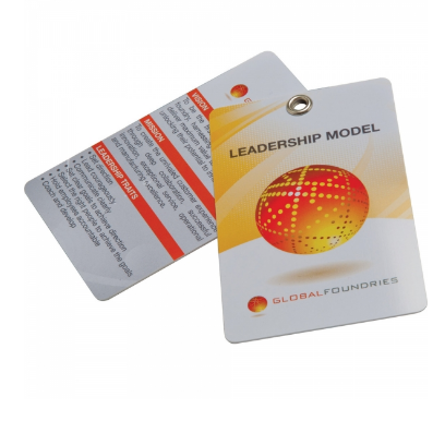 Printed Plastic Cards (125 x 80mm)