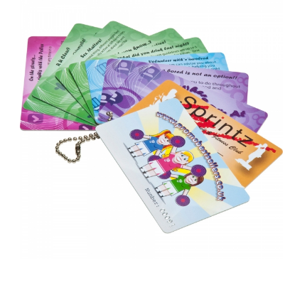 Printed Plastic Cards (54 x 30mm)