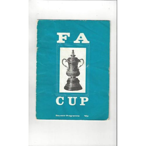 1970's FA Cup Souvenir Pirate Football Programme