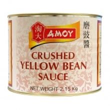Amoy Crushed Yellow Bean Sauce 6x2.15kg/case