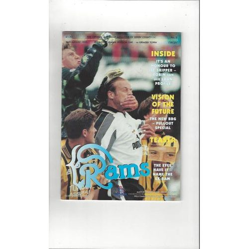 Grimsby Town Away Football Programmes