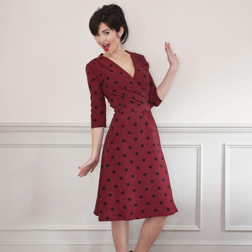 Sew Over It 1940's Wrap Dress