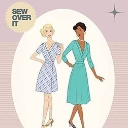 Sew Over It 1940's Wrap Dress