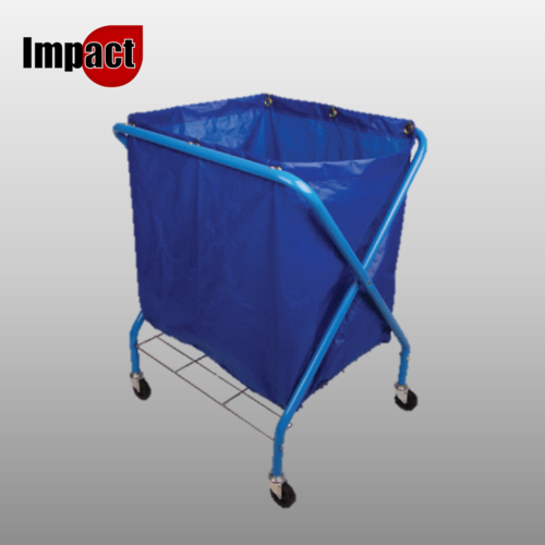 Folding Waste Cart / Trolley with Bag