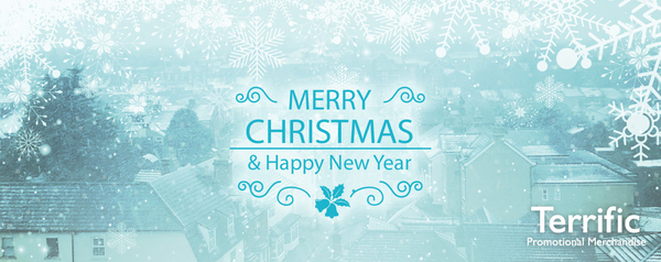 Merry Christmas from Terrific Promotional Merchandise Ltd