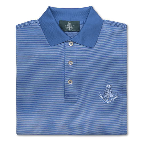 Marbas Molise Short Sleeve Polo Prussian