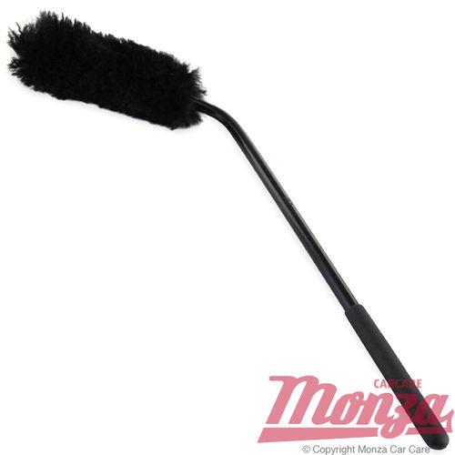 Monza Angled Head Wool Brake Caliper & Wheel Brush