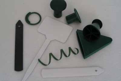 Plastic Plant Pots, Jiffy Pellets and Plant Pots, Greenhouse Glazing Clips