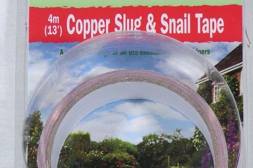 Copper slug tape 4m by 30mm stop slugs snails from Bosmere