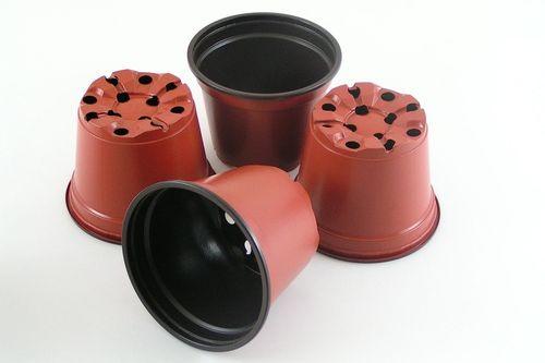 9cm Round plant pots plastic flower pots