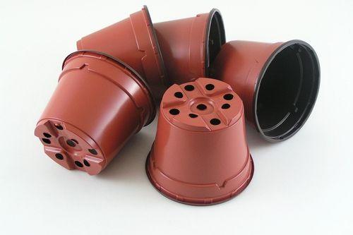 10cm Round plant pots plastic flower pots