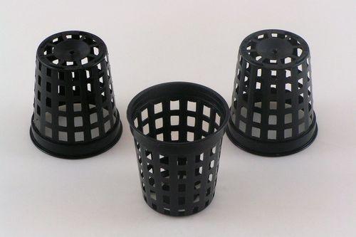 4.6cm Hydroponics net plant pots round plastic pots