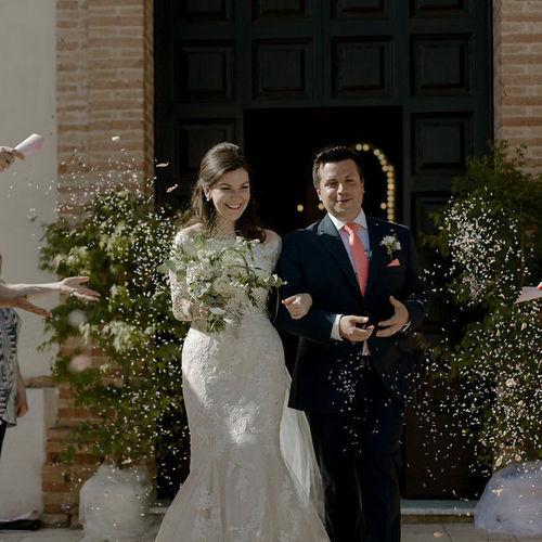 Church Wedding at The Baron's Palace