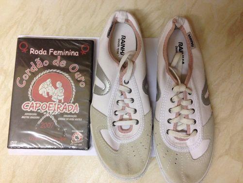 Roda Femina DVD + Women's Shoes Bundle