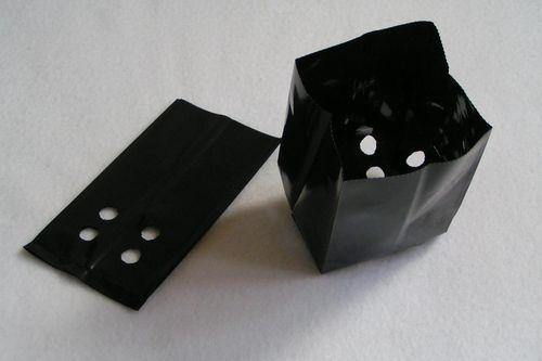 0.5 Litre Polypots plant pots, black plastic poly plant pots