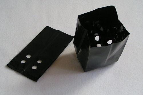 1.5 Litre Polypots plant pots, black plastic poly plant pots