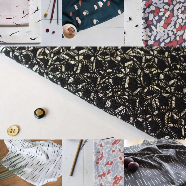 New delivery of Fabrics from Atelier Brunette
