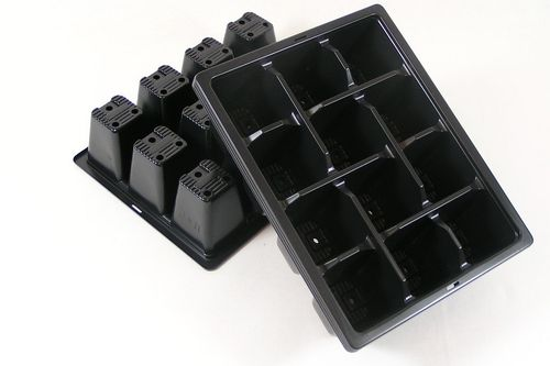 12 cell Plant plug trays multi cell bedding plant trays