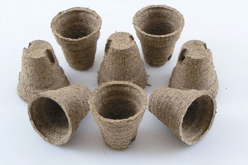 4.5cm Peat plant pots Jiffy Round
