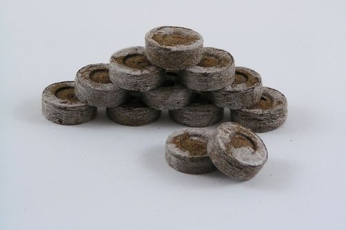 24mm Jiffy 7 peat pellets compressed peat discs