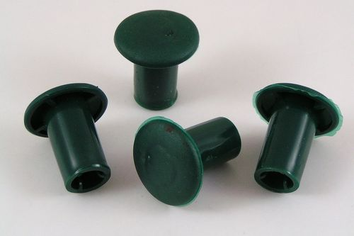 Garden cane cap toppers fit up to 14mm canes sturdy plastic