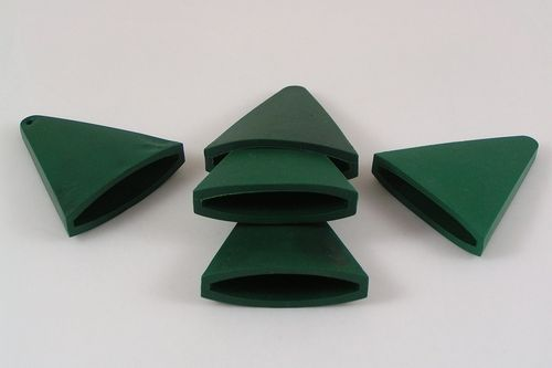 Garden cane cap toppers fit up to 18mm canes sturdy plastic