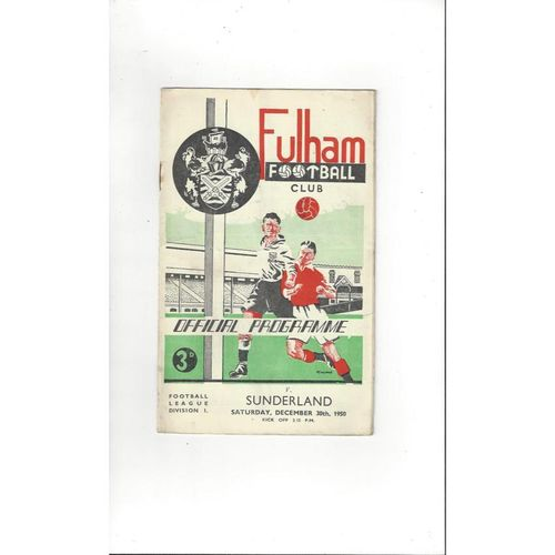 1950's League & Cup Football Programmes