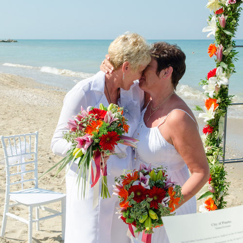 Beach Wedding for Two