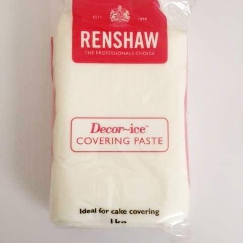 Renshaw- Professional Sugar Paste White 1kg