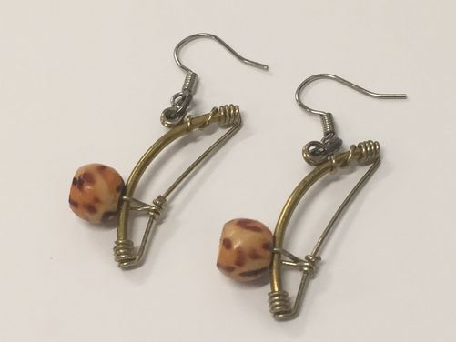 Berimbau Earrings
