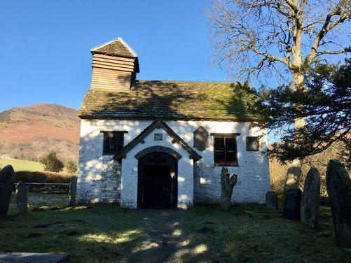 Llanthony Priory to Capel y Ffin (near Abergavenny and Hereford)