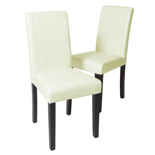 Levi Faux Leather Dining Chairs