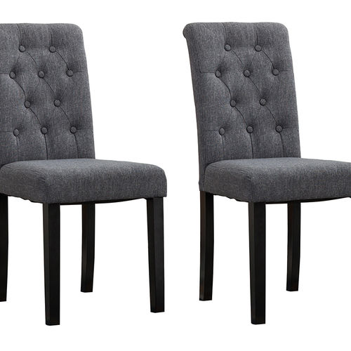 Fabio Lined Fabric Dining Chairs