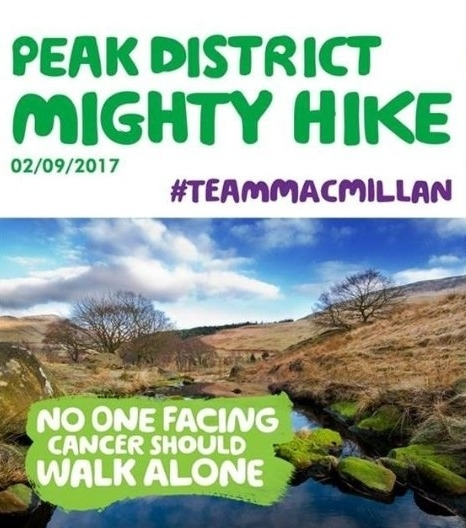 Peak District Mighty Hike September 2017