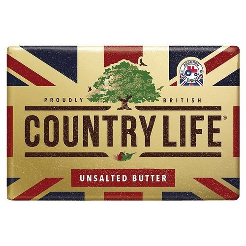 Country Life Unsalted Butter 20x250g/case