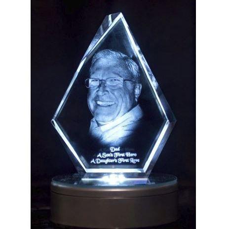 2D Raith Crystal Iceberg 180x140x30