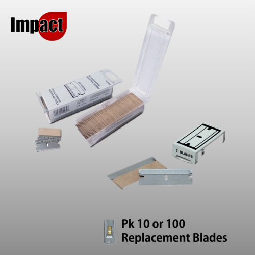 Safety Window Scraper Replacement Blades