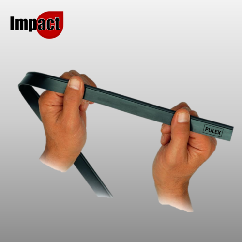 """Squeegee Rubber 36"""" (90cm), Soft or Hard by Pulex"""
