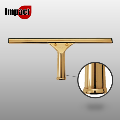 Impact Brass Window Cleaning Squeegee Complete