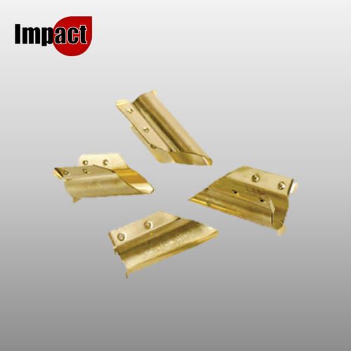 Impact Brass Window Cleaning Squeegee Channel End Clips