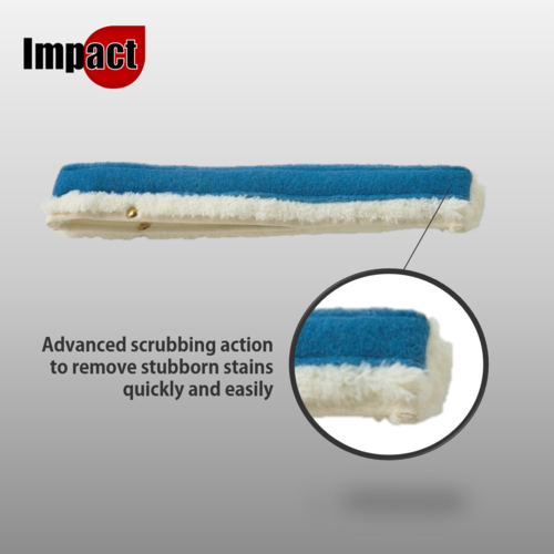"Impact Scour Action Applicator T-Bar Sleeve 14"" or 18"""