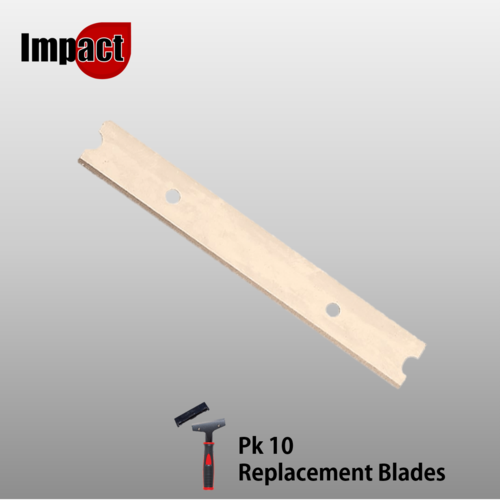 Easy Grip Window Scraper Replacement Blades, Pk10
