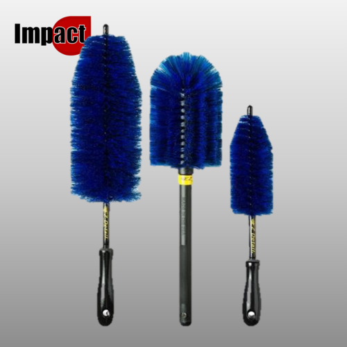 EZ Detail Valeting Brushes, Pk3
