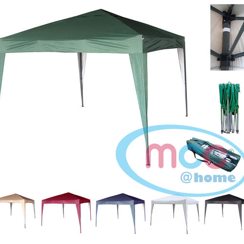 3m x 3m Gazebo Resistant Outdoor Garden Marquee Canopy (Green)