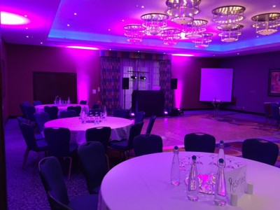 Uplighting Mood Lighting London Surrey Kent Sussex Wedding Lighting
