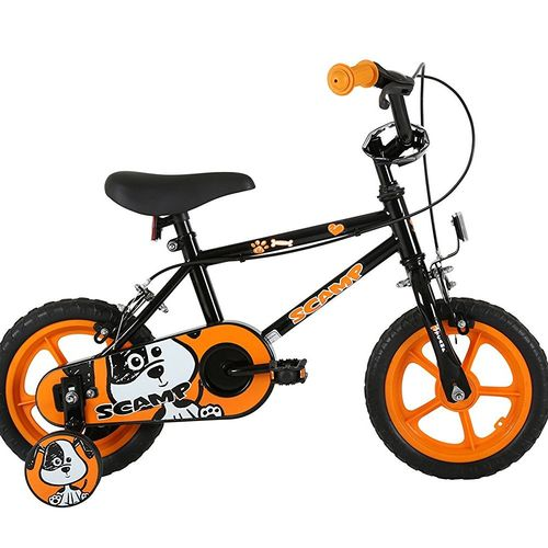 Sonic Scamp Kids Bike - 12 inch - Black