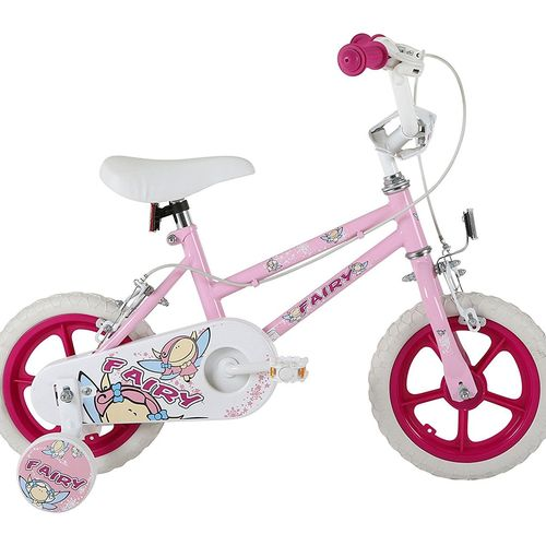 Sonic Fairy Kids Bike 12 inch - Pink