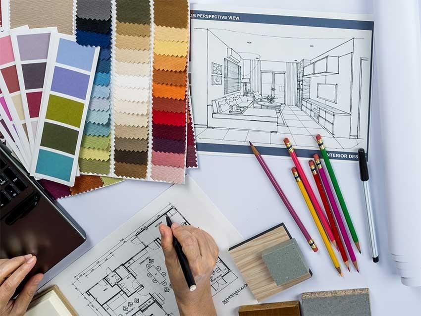 Interior Design development